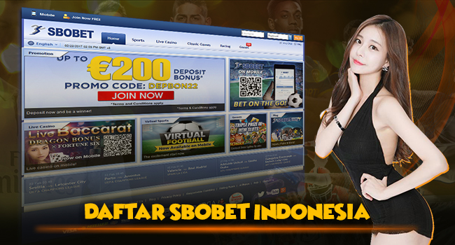 Sbobet Indonesia Daftar